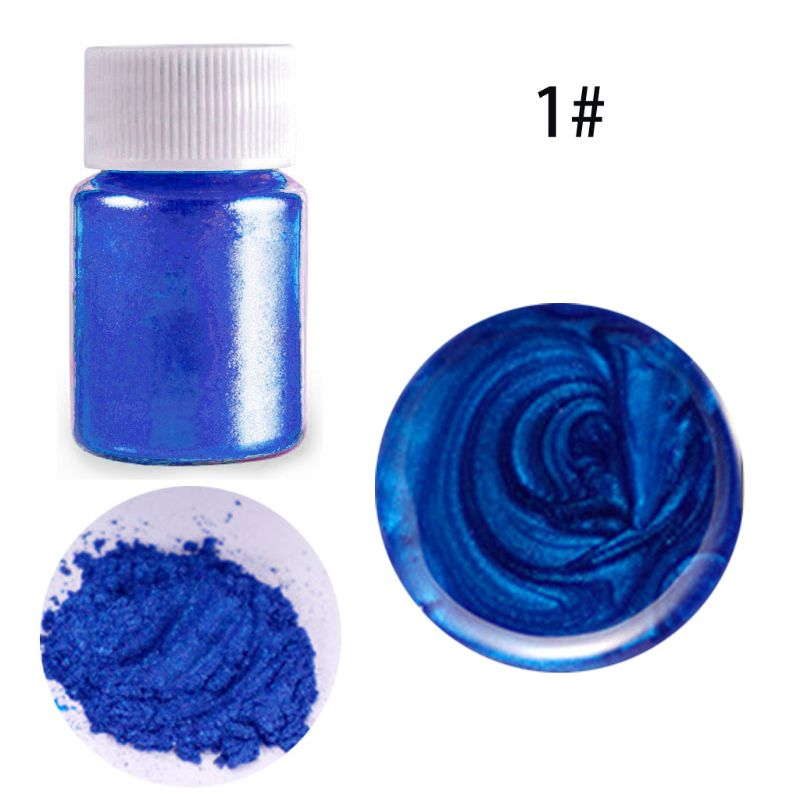 21 Colors Aurora Resin Mica Pearlescent Pigments Colorants Resin Jewelry Making