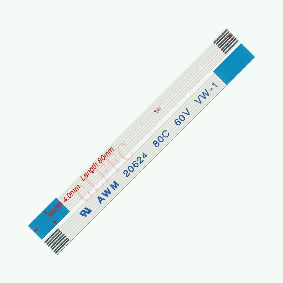 5Pcs 15cm 16Pin 0.5mm Pitch Flexible Flat Cable FFC FPC AWM 20624 80C 60V VW-1