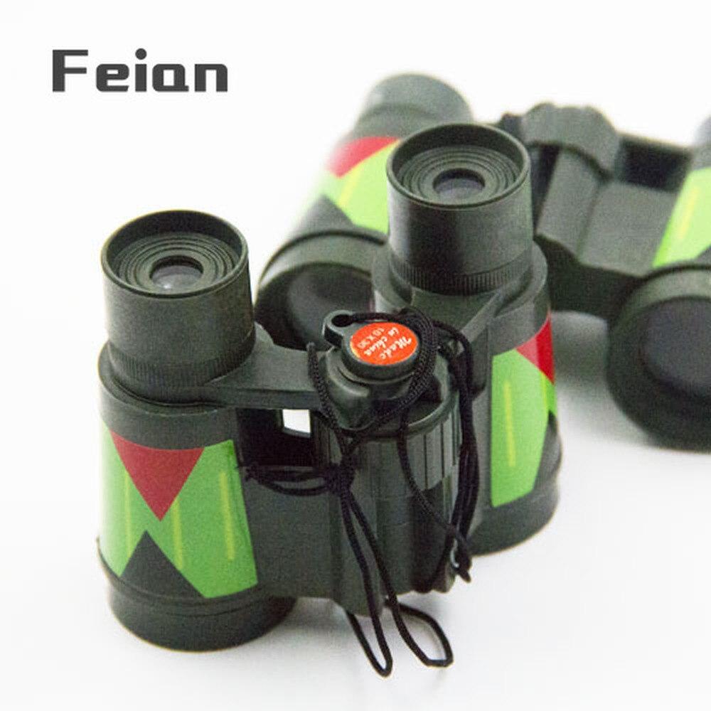 Portable folding Children's binoculars educational toys kindergarten gifts binoculars toys for children kids binoculars 1