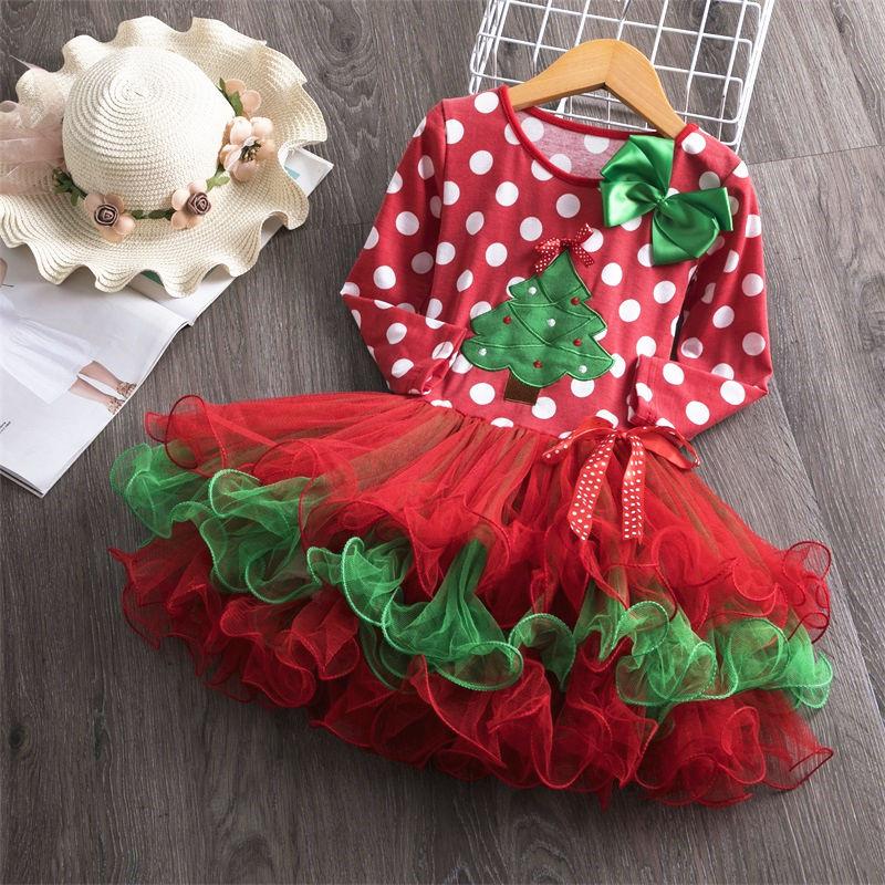 Hf11e67b333774eb98b26256241359862K Winter Kids Dresses For Girls Long Sleeve Children Clothing Sequins Stars Tutu Girls Casual School Wear Princess Party Dress