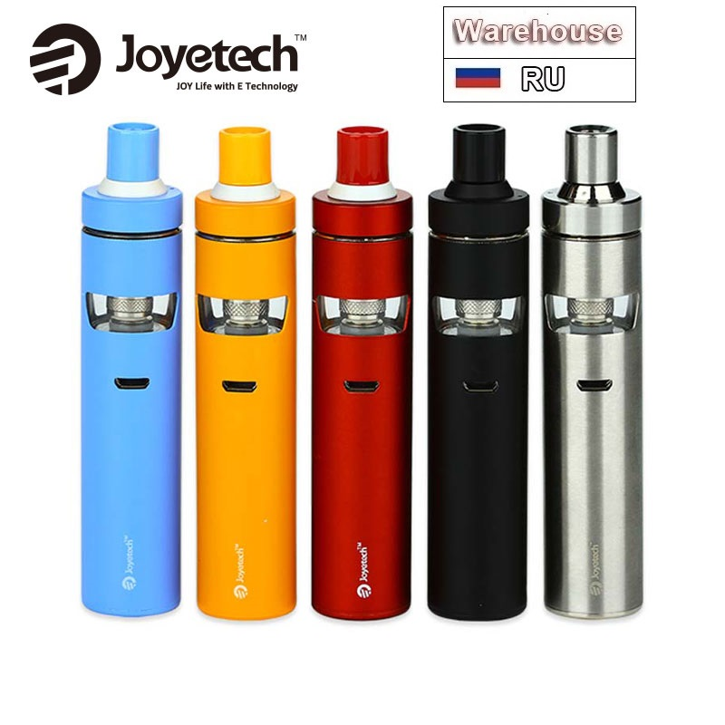 100% Original Joyetech EGo AIO D22 Kit 1500mAh Batterie Kapazität 2ml E-flüssigkeit Kapazität BF SS316-0.6ohm MTL Zerstäuber Kopf VS D16