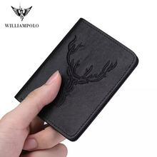2019 mens wallet short for male real leather new design fashion small thin
