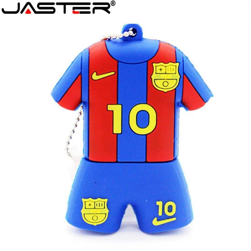 JASTER Barcelona Football Stadium Bassa Messi Flash Card With USB Interface 4GB 8GB 16GB 32GB 64gb Football Flash Drive Gift