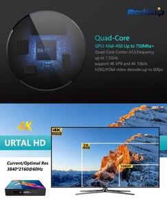 Image 3 - a95x r3 rk3318 smart tv box android 10.0 tv box 4K Quad core set top box mini media player 4gb 32gb 64gb 2gb16gb