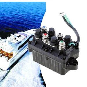 Image 5 - ボートトリムリレー 2 ワイヤープラグ 12 v パワーマリントリム & リレーヤマハ 25/40/50/60/75/90/125/150/225HP 4 ストローク船外機エンジン