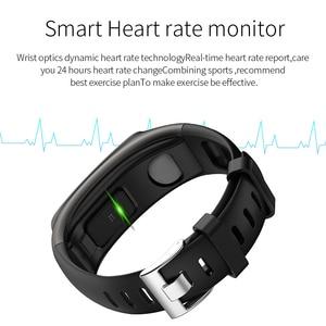 Image 2 - TB02 Smart Armband Bluetooth Kopfhörer 2 in 1 Wireless Headset Noise Reduction Herz Rate Blutdruck Monitor IP67 Wasserdicht