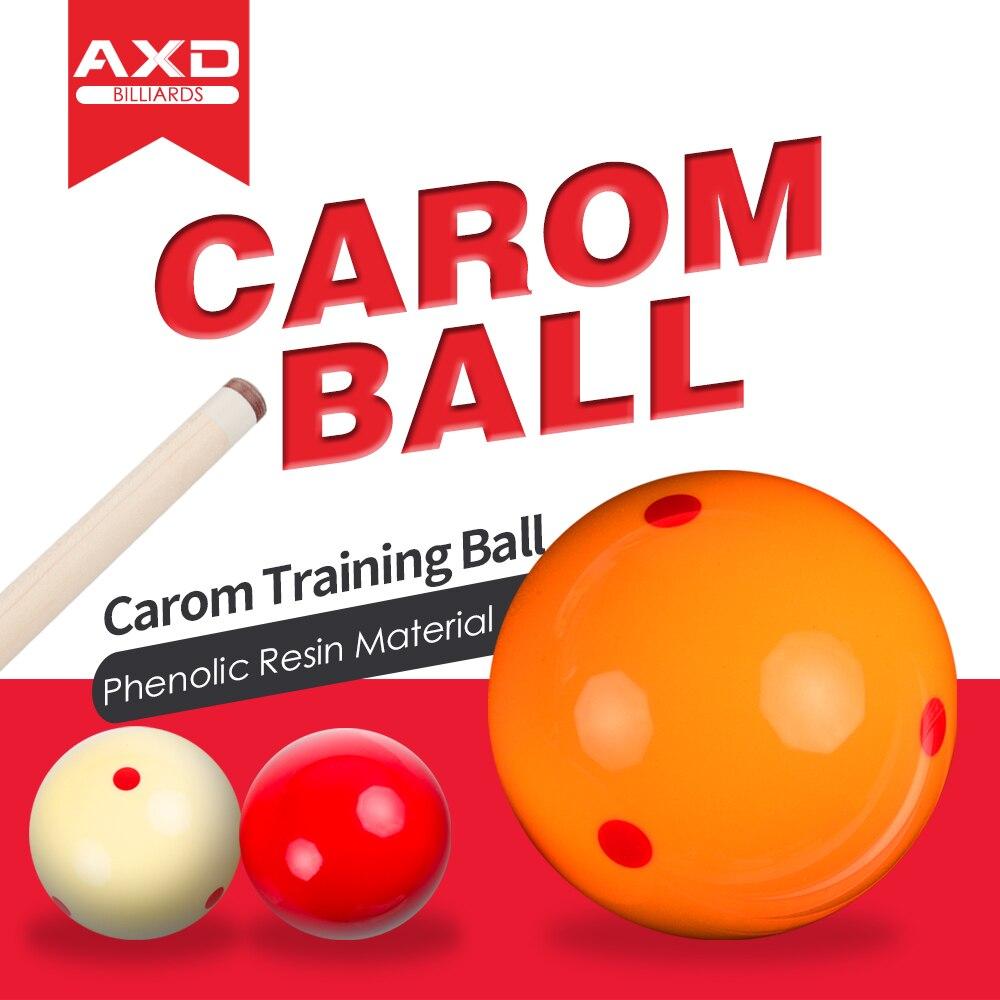Korean 3 Cushion Game Ball French Carom Billiard Ball 3 Pcs In Box Cue Ball 6 Dot-Spot Exercise Ball 61.5mm Billiard Accessories