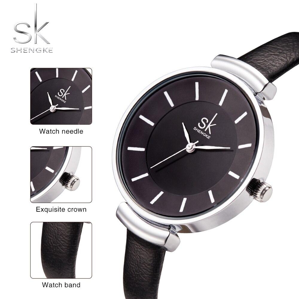 2020 Luxury Brand Fashion Casual Ladies Watch Leather Strap Waterproof Quartz Ladies Simple Watch Relogio Feminino Reloj Mujer