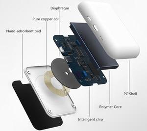 Image 3 - اللاسلكية تجدد Powerbank البطارية تهمة حقيبة لهاتف أي فون X/XS/8/8 زائد Sumsung s9/s9 + هواوي زميله RS P20 Xiaomi MI9 الشحن اللاسلكي