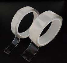 1M/3M/5M magic tape reusable double-sided tape  no trace nano-adhesive magic Glue removeable washable strong sticky tape