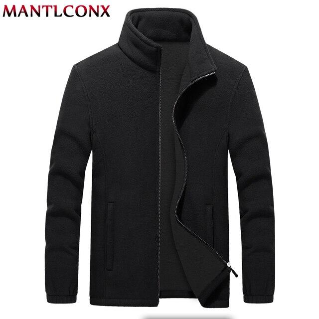 MANTLCONX M 9XL Fleece Jacke Männer Große Größe Jacke Mantel Männer Oberbekleidung Große Größe Im Freien Warme Jacken und Mäntel für Männer winter