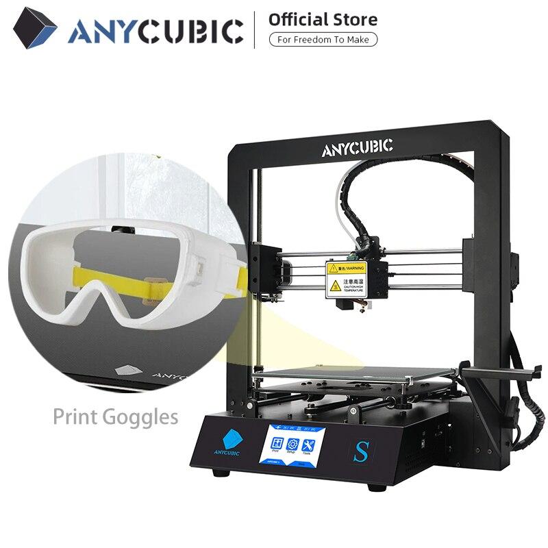 ANYCUBIC Mega S 3D принтер I3 мега серии обновления DIY полностью металлическая рамка Impresora 3D Drucker высокая точность|anycubic 3d printer|3d printerprinter i3 | АлиЭкспресс