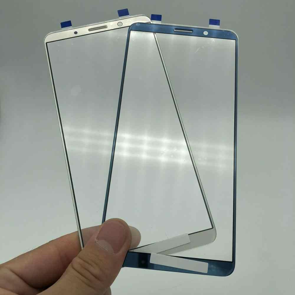 2 adet dokunmatik ekran ön cam panel için Huawei Mate 10 Pro çatlak cam değiştirme onarım HD ekran test göndermeden önce