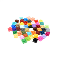3024 30pcs/lot 1x1 Building Block Part DIY Toy For Kids 16 Colors Creative