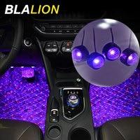 Luces en pies LED para Interior de coche, lámpara de ambiente USB de 12V, iluminación Interior de coche, retroiluminación RGB Universal, luz decorativa ambiental