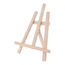 Wood Easel Tabletop Drawing Artist Wooden Fold Standing Easels Painting Whiteboard Chalk board Easels 28cm