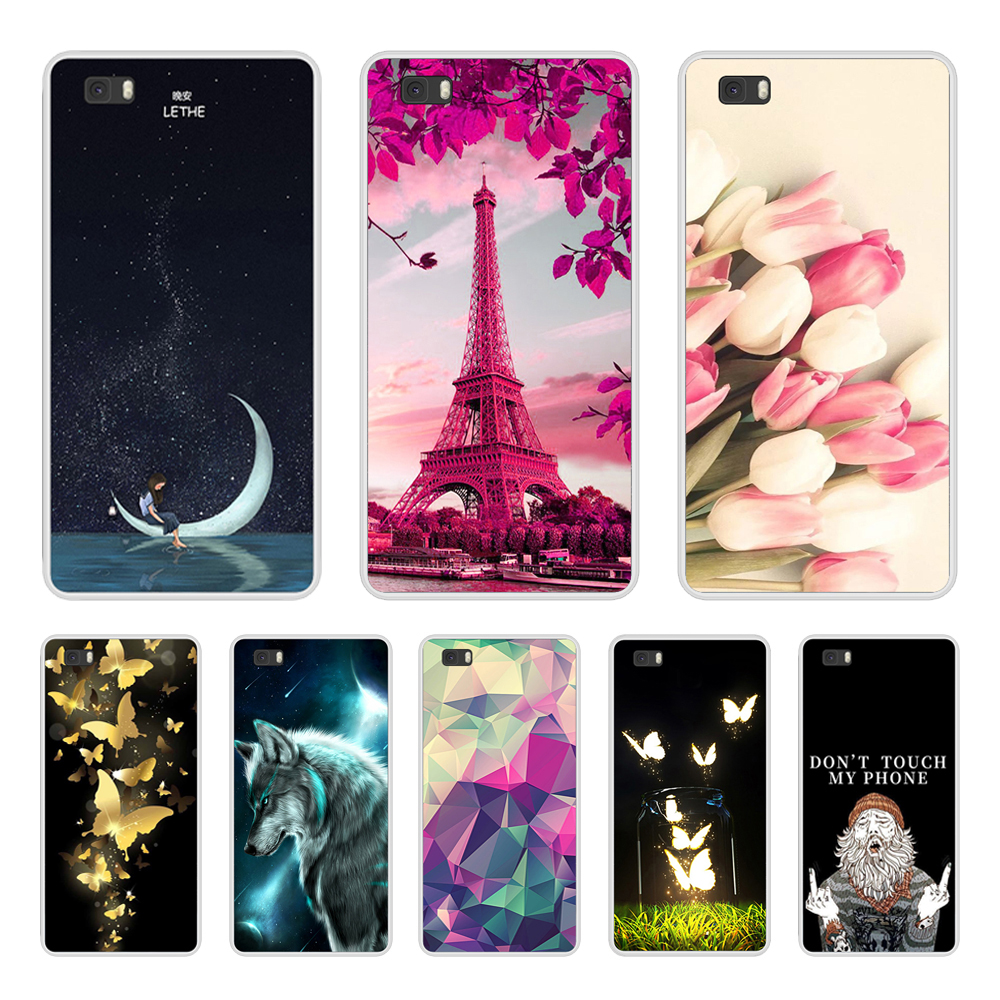 For Coque Huawei P8 Lite 2017 Case Silicone Soft Phone Case For ...