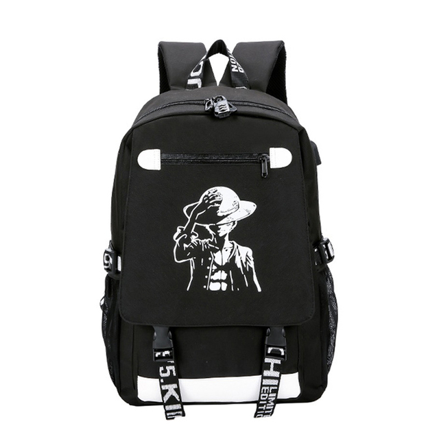 Usb Charging Backpacks Anti Theft Code Lock Personality Cartoon School Bag Night Light Hip Hop Daily Backpack Outdoor Travel Bag Backpacks Luggage Bags Aliexpress