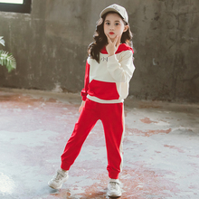 Get more info on the Kids Sports Suit for Girls Tracksuit 4 5 7 9 11 13 Years Cotton Long Sleeve Girl Sweatsuit Autumn Children Clothing Outfits Set