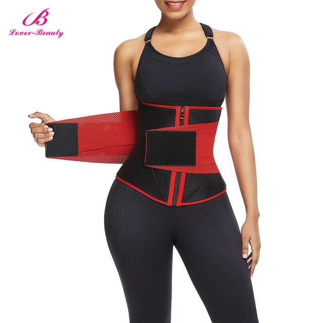 Lover-Beauty Women Waist Trainer Neoprene Belt Weight Loss Cincher Body Shaper Tummy Control Strap Slimming Sweat Fat Burning 4
