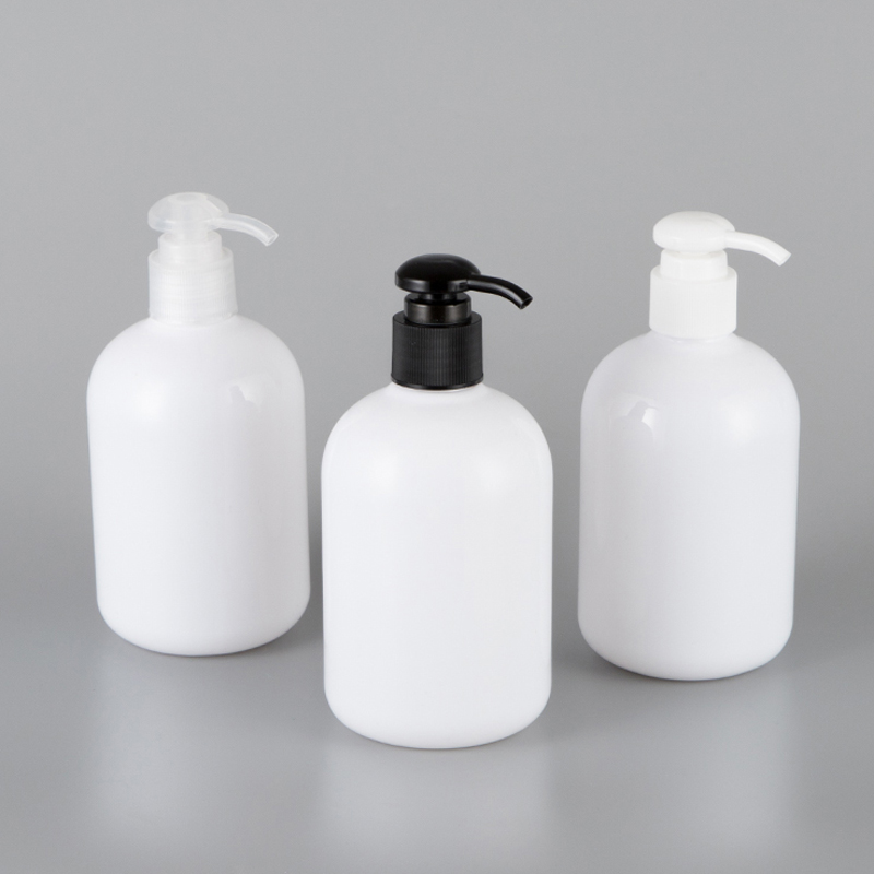 350ml X 10pc Empty Lotion Pump Plastic Bottles Shampoo Shower Gel Lotion Cream Container With Pump PET Bottles For Personal Care