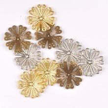 Connectors Handicraft Filigree Flowers Scrapbook Home-Decor 40mm for Diy/Home-decor/Handicraft/Yk0762-2
