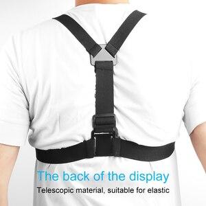 Image 3 - Ruigpro harnais réglable sangle de poitrine support pour DJI osmo caméra daction Gopro Hero 9 8 7 6 5 4 Xiaomi Yi 4K Go Pro 7 accessoire