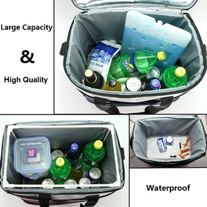 Image 4 - 36L Cooler Bag High Quality Car Ice Pack Picnic Large Cooler Bags 3 Colors Insulation Package Thermo ThermaBag Refrigerator