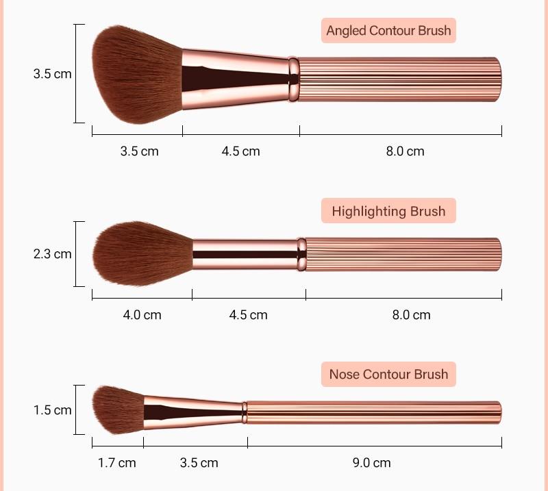 makeup brushes 10