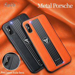 For Xiaomi Redmi 9 Cover XUANYAO Luxury Cases Phone  For Xiaomi Redmi 9A  Case Hard Metal Leather Case Cover Remi 9A