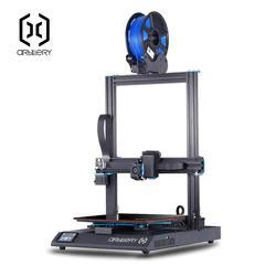 Impresora 3D de artillería Sidewinder X1 SW-X1 de alta precisión de talla grande 300*300*400mm impresora 3d doble eje Z TFT pantalla táctil