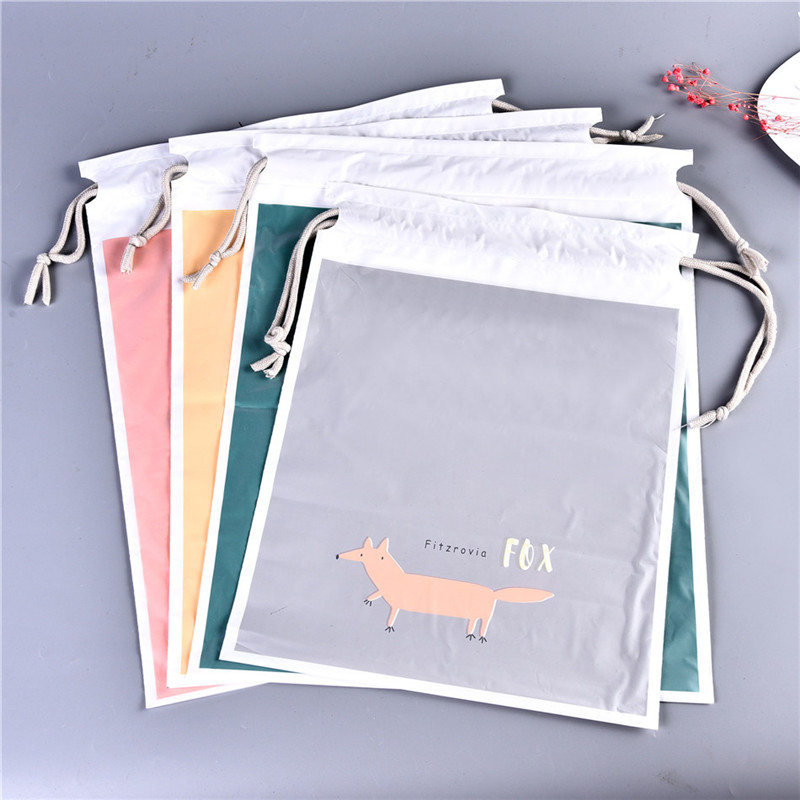 Vogvigo Thick Waterproof Travel Drawstring Bag Organization Storage Bag Shoe Holder Laundry Lingerie Drawstring Backpack