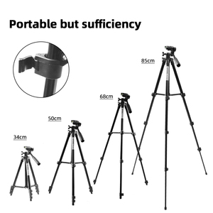 Image 3 - MountDog 35 85cm Adjustable Mini Tripod Stand For Phone Mount Holder With Phone Clip For GoPro Action Camera