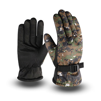 Tactical Military Winter Gloves Waterproof Windproof Warmer Fleece Full Finger Protective Men