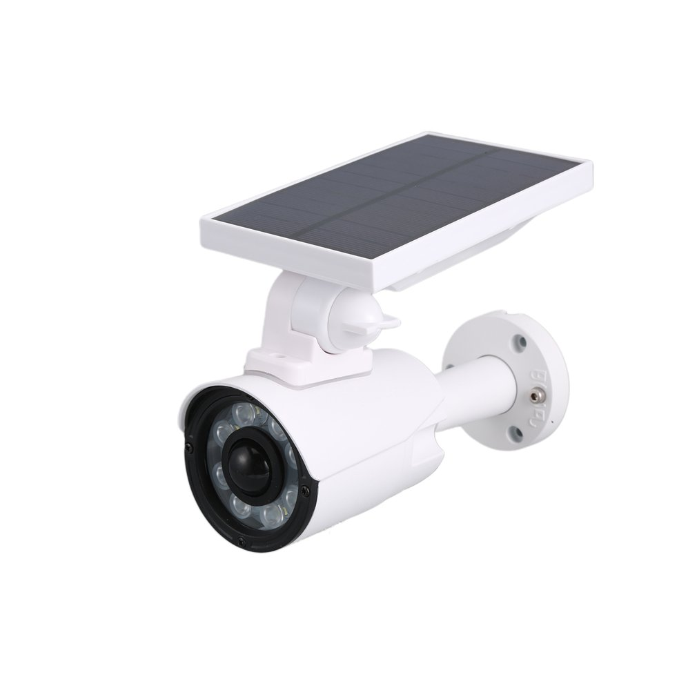Solar Metal Surveillance Camera Solar Panel Dummy Security Camera Home Simulation Surveillance Camera Drop Shipping Sale