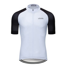 Cycling Jersey Clothing Bicycle Mtb Bike Downhill Breathable Quick Dry Shirt Men Short Sleeve 2021 Pro Team Summer LECOL Tops