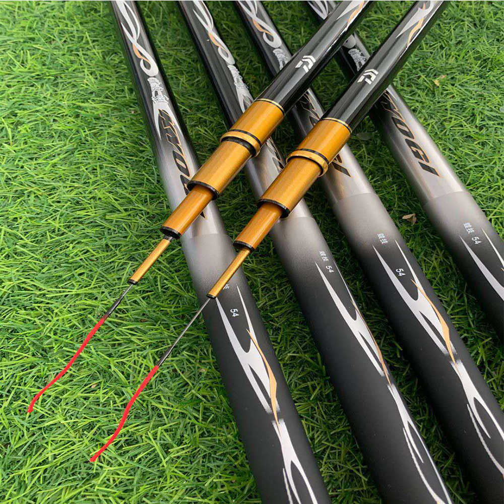TOP 2020 Carp Super Hard Carbon Fiber Manual Telescopic Fishing Rod 3.6M/3.9M/4.5M/4.8M/5.4M/5.7M/6.3M/7.2M/8.1M Fishing Rod