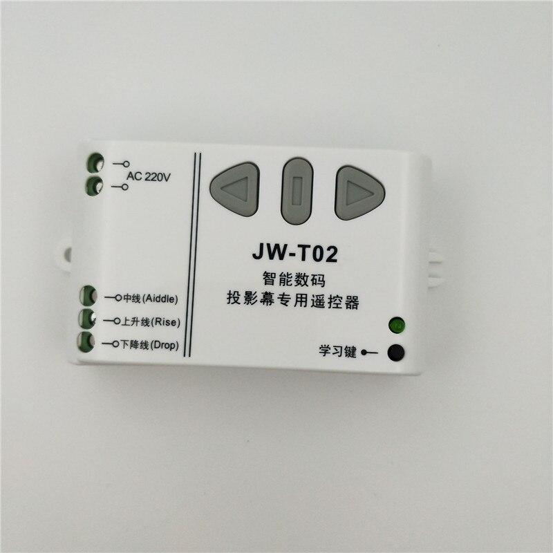 Image 3 - JW T02 AC 220V Motor Wireless Remote Control Switch UP Down Stop Tubular Motor Controller Motor Forward Reverse TX RX Latchedtubular motor controllerwireless remotewireless control remote - AliExpress