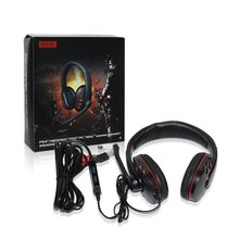 Gaming Headset Stereo Over-Ear Headphone with Mic for PS4/PS3/PC/MAC/XBOX360 with Noise Cancelling & Volume Control ttlife g1000 3 5mm pc gaming headphones hifi headphone bass stereo headset noise cancelling volume control with mic led light