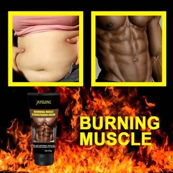 1/2pcs Fat Burning Slimming Creams Men Abdominal Cream Weight Loss Bodybuilding Abdominals Muscles Tighten Cream Health Care 1