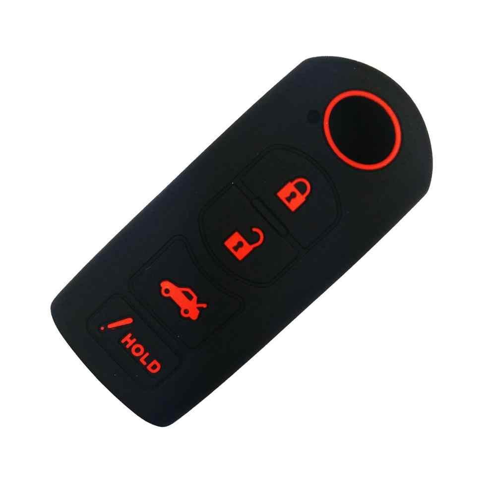 Coolbestda Chiave Del Silicone Fob Caso Della Copertura Giacca di Pelle A Distanza Keyless Protector per Mazda 3 6 CX-5 CX-7 CX-9 MX-5 Miata