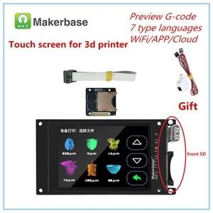 Image 1 - for BIGTREETECH SKR V1.3 MKS TFT 35 V1.0 display + MKS Slot2 + filament run out sensor 3.5 TFT LCD 3d printer touch screen