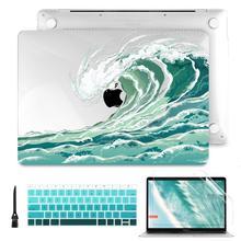Funda para Macbook Air Pro Retina 11, 12, 13,3 pulgadas, 13, 15, 16, barra táctil/ID táctil, A2289, A1932, A2159, A2251, novedadBolsas y fundas de ordenador portátil