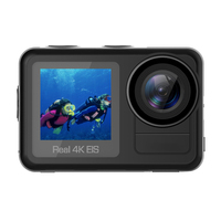 Action Camera Ultra HD 4K / 30fps WiFi 2.0 170D Underwater Waterproof Cam Helmet Video go Sport pro Cam