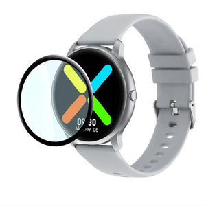 Image 1 - غطاء حماية منحني ثلاثي الأبعاد ناعم لـ Xiaomi Imilab KW66 ، حماية ساعة رياضية ذكية ، شاشة LCD