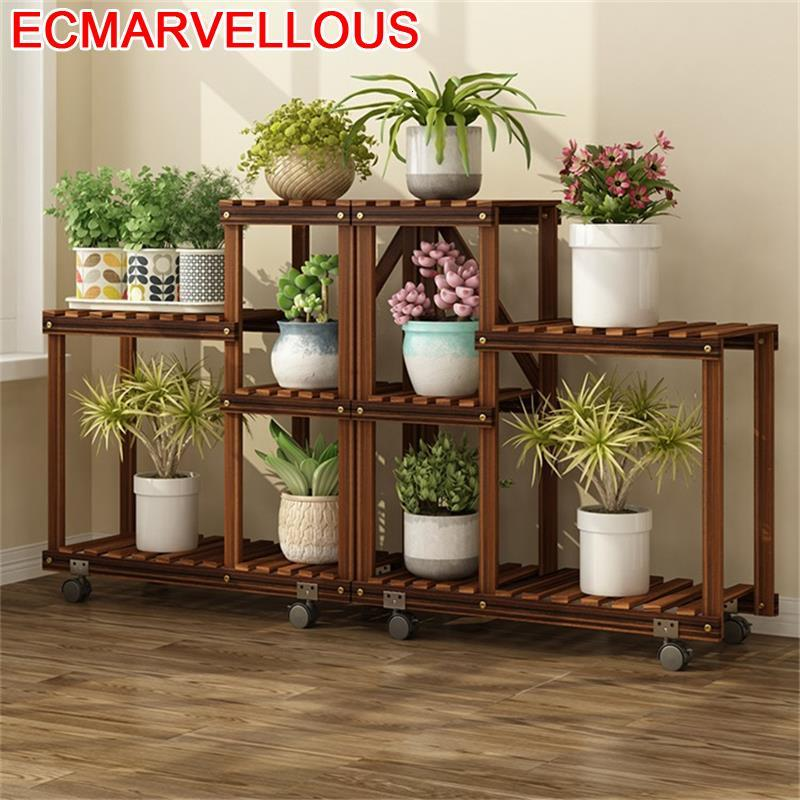 For Table Etagere Plante Para Macetas Wood Estanteria Escalera Stojak Na Kwiaty Dekoration Outdoor Flower Shelf Plant Stand