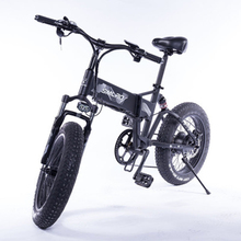 Electric bike 20 * 4.0 inch aluminum foldable Electric bikes 48V10AH 500W powerful Fat Tire bike Mountain Snow bicycle
