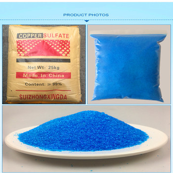 1.5 KG copper sulphate pentahydrate Copper Sulfate Crystals Blue Sulfate Pentahydrate Mini Crystal CUSO4 with low price