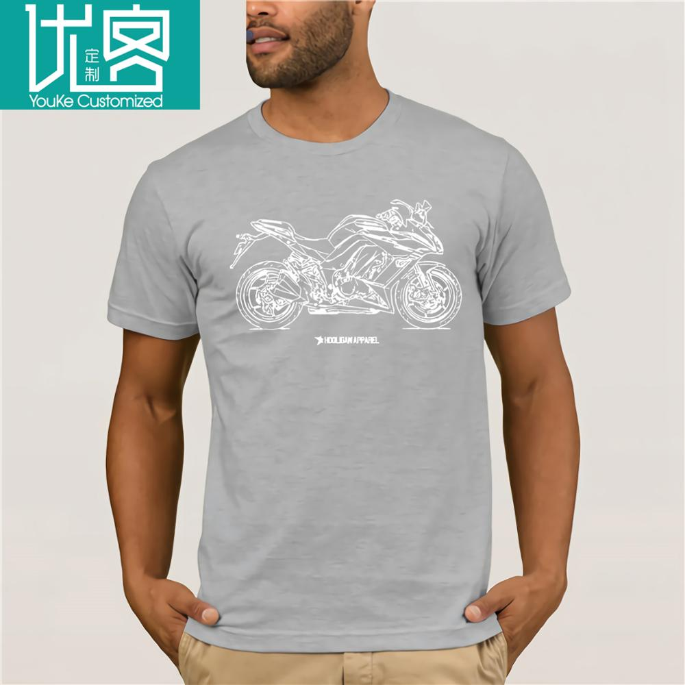 Wholesale 2018 Hip Hop Brand New Clothing Japanese Motorcycle Fans <font><b>Z1000Sx</b></font> <font><b>2016</b></font> Inspired Motorcycle Shirts image