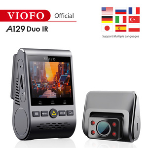 2019 NEW A129 Duo IR Front And Interior Dual Dash Cam 5GHz Wi-Fi Full HD 1080P Buffered Parking Mode For Uber Lyft Taxi(China)